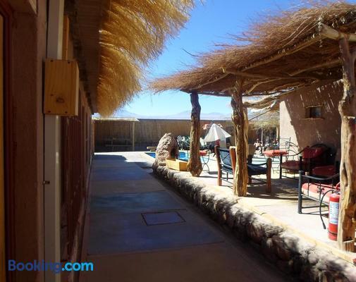 Hostal Lackuntur - San Pedro de Atacama - Balcony