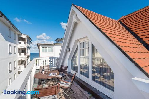Hotel Villa Belvedere - Binz - Ban công