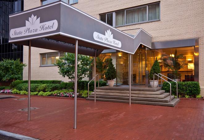 State Plaza Hotel - Washington - Edificio