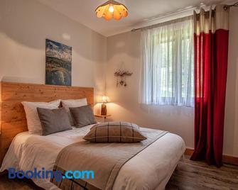 Les Alisiers - Montclar - Bedroom
