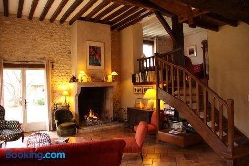 Les Jardins de L'Aulnaie - Pacy-sur-Eure - Living room