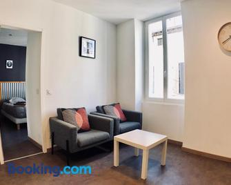 Appartements Le Mistral Blanc - Tarascon - Huiskamer