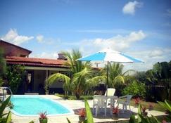 Casa Na Praia Dos Carneiros Cond Beira Mar Seg24hrs Frente Piscinas Naturais!!! - Tamandare - Piscina