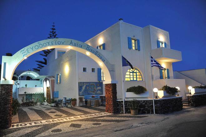 聖塔巴巴拉酒店 - 聖托里尼 - 佩里薩 - 建築