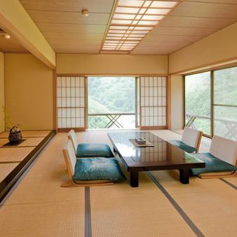 Aizu Ashinomaki Onsen Marumine - Aizuwakamatsu - Τραπεζαρία