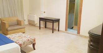 luxury flat in maadi with garden near metro - El Cairo - Sala de estar