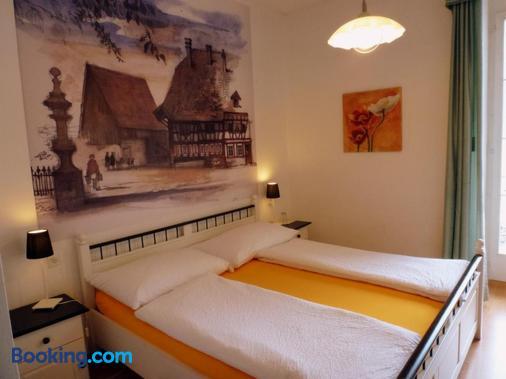 大陸中央酒店 - 因特拉肯 - 臥室