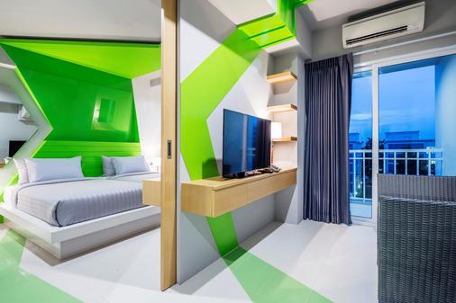 阿特利爾套房酒店 - 曼谷 - 曼谷 - 臥室