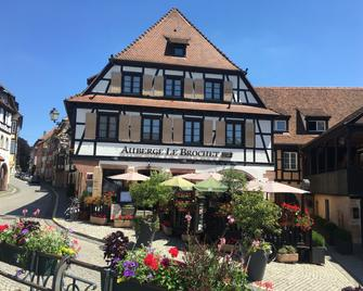 Hôtel-Restaurant Le Brochet - Andlau - Gebouw