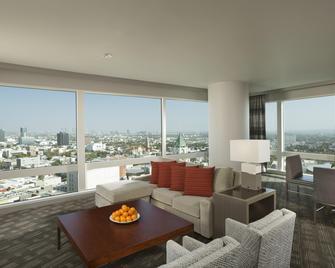 ロウズ ハリウッド ホテル - ロサンゼルス - リビングルーム