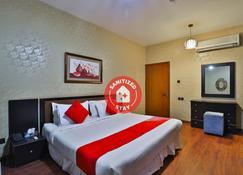 Oyo 114 Dome Hotel Al Sulaimaniah - Riyadh - Bedroom