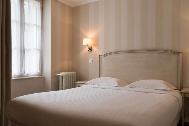 The Originals Boutique, Hostellerie des Trois Pigeons, Paray-le-Monial (Inter-Hotel) - Paray-le-Monial - Bedroom