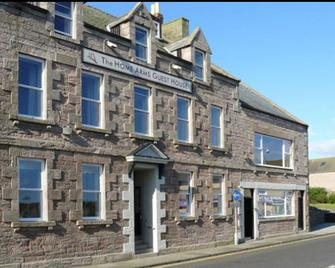 The Home Arms Guesthouse - Eyemouth - Gebäude
