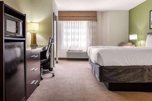 Sleep Inn & Suites - Columbus - Schlafzimmer