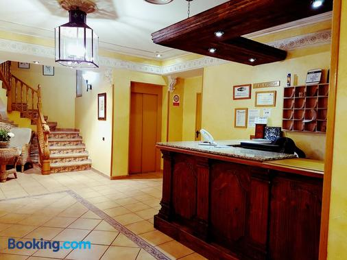 Hostal Maria Ronda - Madrid - Front desk