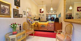 Hotel & Apartments Zarenhof Berlin Prenzlauer Berg - Berlin - Front desk