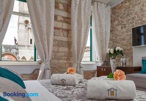 斯普利特豪華古蹟酒店 - 斯普利特 - 斯普利特 - 餐廳