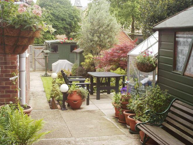 The Pebbles - B&b - Weymouth - Patio