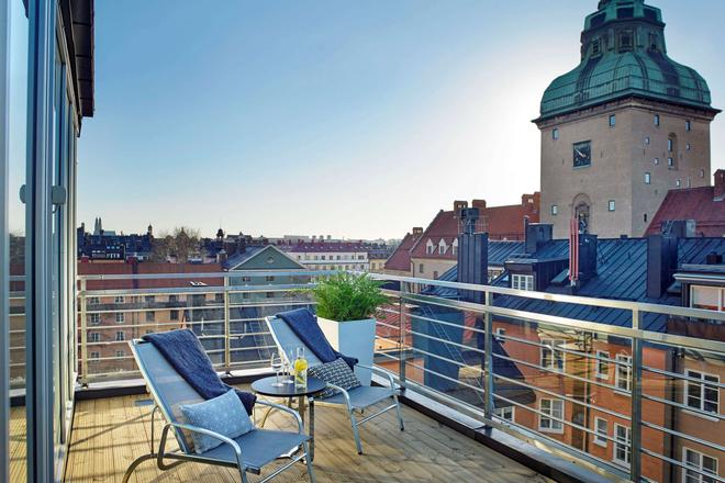 阿瑪蘭滕號角酒店 - 斯德哥爾摩 - 斯德哥爾摩 - 陽台