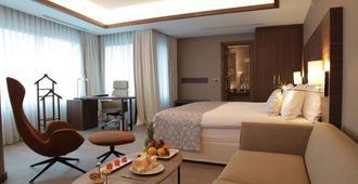Bricks Hotel Istanbul - Стамбул - Спальня