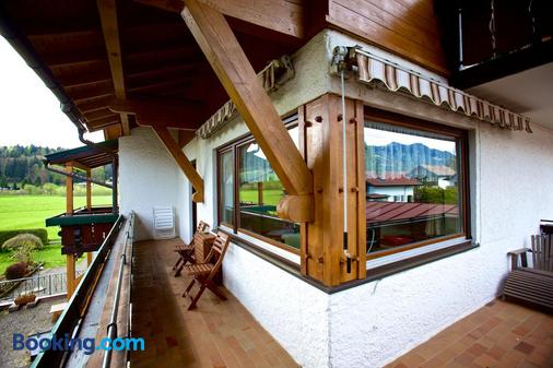 Gästehaus Weller - Oberstdorf - Balcón