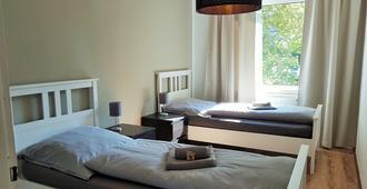Glück Auf Appartements Schederhofstraße Essen - אסן - חדר שינה
