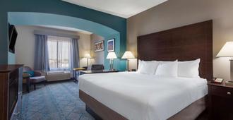 La Quinta Inn & Suites by Wyndham Columbus West - Hilliard - קולומבוס - חדר שינה