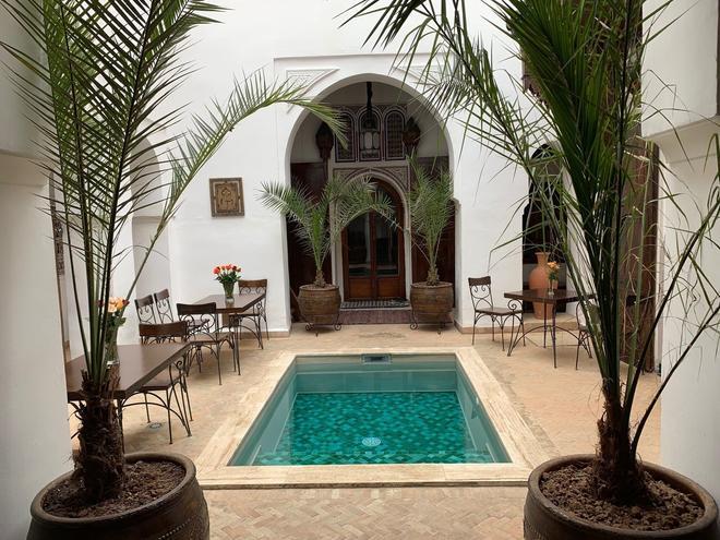 里亞德諾拉酒店 - 馬拉喀什 - 游泳池