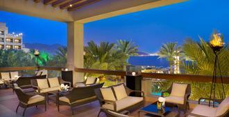 Intercontinental Hotels Aqaba (Resort Aqaba) - עקבה - מרפסת