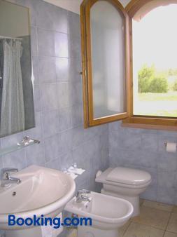 Hotel Perda Rubia - Sant'Anna Arresi - Bathroom