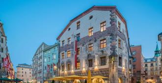 Best Western PLUS Hotel Goldener Adler - אינזברוק