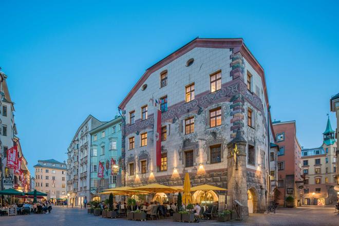 Best Western PLUS Hotel Goldener Adler - Innsbruck - Rakennus
