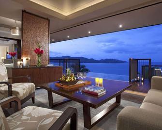 Raffles Seychelles - Grand'Anse Praslin - Huiskamer