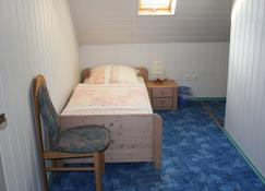 3 very well furnished holiday homes. also for 2 families or 16/14/11 people - Untermeitingen - Bedroom