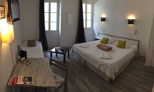 Le Petit Hôtel - Biarritz - Makuuhuone