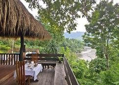 Home Phutoey River Kwai Hotspring & Nature Resort - Ban Kaeng Raboet - Βεράντα