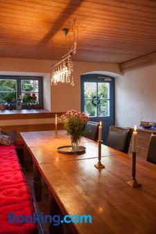 B&b Craintaler Mühle - Creglingen - Dining room