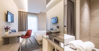 Begijnhof Hotel - לויבן - חדר שינה