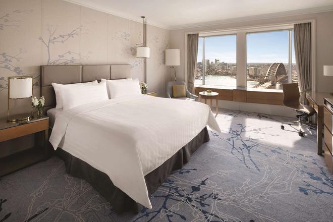 Shangri-La Hotel, Sydney - Sydney - Phòng ngủ