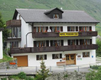 Pension Egg - Hospental - Gebäude