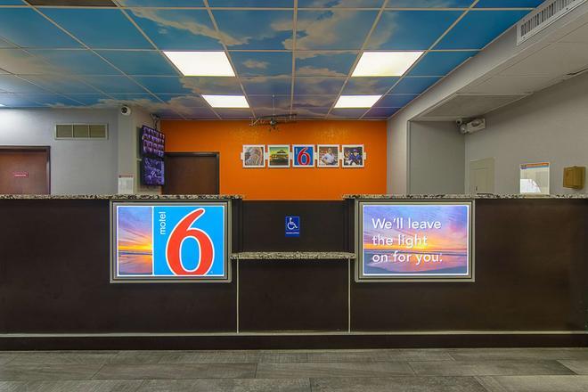 Motel 6 Atlanta Airport - Virginia Ave - Atlanta - Recepción
