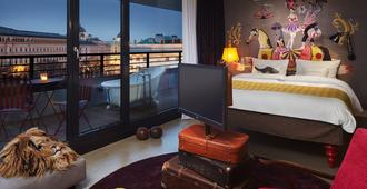 25hours Hotel at MuseumsQuartier - Wien - Sovrum
