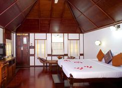 The Travancore Heritage Beach Resort - Thiruvananthapuram - Bedroom