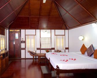 The Travancore Heritage Beach Resort - Thiruvananthapuram - Bedroom