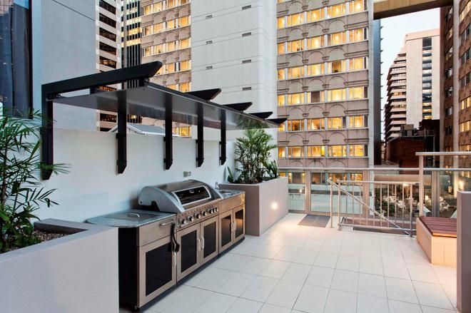 曼塔拉城中公寓 - 布里斯本 - 陽台