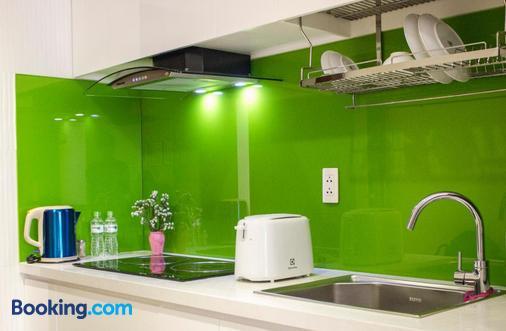 Sunny Serviced Apartment - Ho Chi Minh City - Kitchen