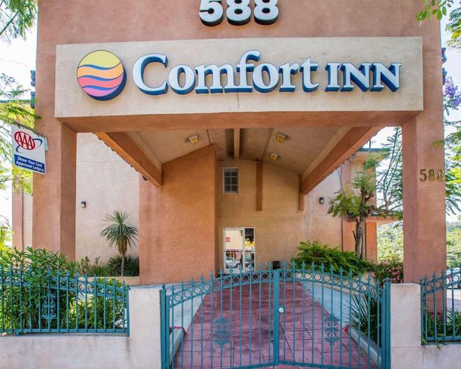 Comfort Inn - Monterey Park - Building