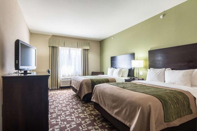 Comfort Inn & Suites - Mansfield - Bedroom