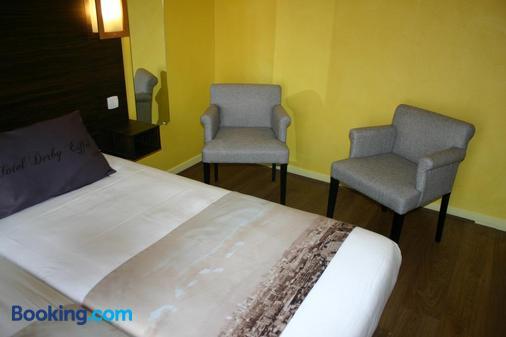 Hotel Derby Eiffel - Paris - Bedroom