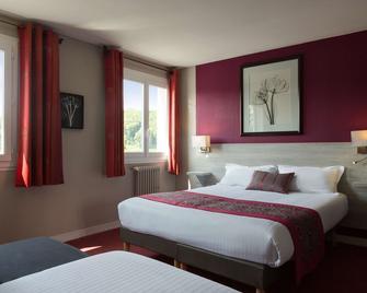 The Originals Boutique, Hôtel Les Quatre Salines, Le Mont Saint-Michel Sud (Inter-Hotel) - Roz-sur-Couesnon - Schlafzimmer